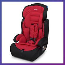 Автокресло-бустер 2 в 1 для детей от 1 года до 12 лет Bambi M 3546 Red красное