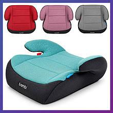 Автомобильное кресло-бустер для детей от 4 года до 12 лет группа 3 Bambi M 2784 Royal Mix