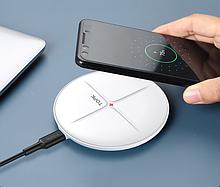 Бездротове зарядний пристрій TOPK B09W 10W для iPhone 12/ 11/ X/ XS/ 8/ Samsung S10/ Note 9 / Xiaomi Mi 9