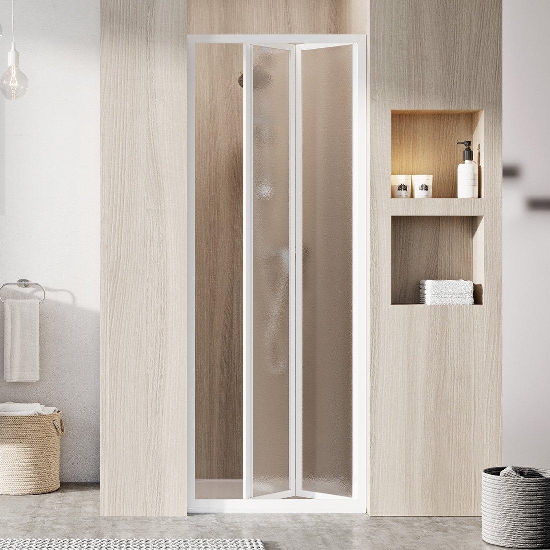 SDZ2-70 195 (Grape) White Душова двері