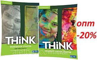 Английский язык / Think / Student's+Workbook. Учебник+Тетрадь (комплект), Starter / Cambridge