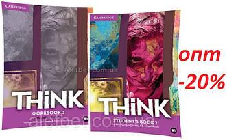 Английский язык / Think / Student's+Workbook. Учебник+Тетрадь (комплект), 2 / Cambridge