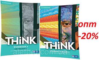 Английский язык / Think / Student's+Workbook. Учебник+Тетрадь (комплект), 4 / Cambridge