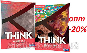 Английский язык / Think / Student's+Workbook. Учебник+Тетрадь (комплект), 5 / Cambridge