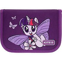 Пенал без наповнення Kite Education My Little Pony LP21-621, 1 відділення, 1 закот