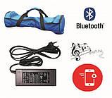 Гироборд Smart Balance 10 Premium самобаланс, Bluetooth, встроенная колонка + пульт и сумка Space, фото 3