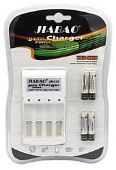 Зарядное устройство на 4 аккумулятора JIABAO JB-212