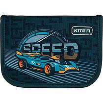 Пенал без наповнення Kite Education Speed K21-621-2, 1 відділення, 1 закот