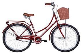 """Велосипед 26"""" Dorozhnik JADE 2021 (бордовый)"""