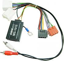 Адаптер кнопок на кермі для Mitsubishi, Peugeot, Citroen AWM MS-1015