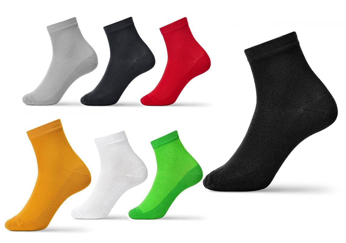 Підслідники літні чоловічі, сітка, однотонні і кольорові, V&T (розмір 25-27)