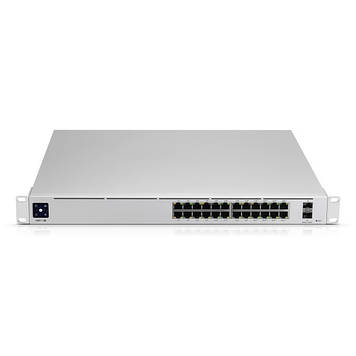 Коммутатор L2 Ubiquiti UniFi Switch Pro 24 PoE Gen2 (USW-Pro-24-POE)