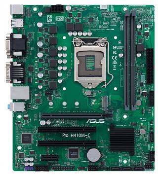 Материнская плата Asus Pro H410M-C/CSM (s1200, Intel H410, PCI-Ex16)