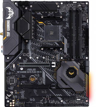 Материнская плата Asus TUF Gaming X570-Plus (WI-FI) (sAM4, AMD X570, PCI-Ex16)