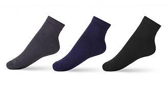 Носки демисезонные средние для мальчика, однотонные, V&T (размер 16-18)