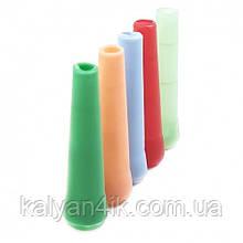 >Мундштук одноразовый пластиковый внутренний цветной маленький 100 шт.
