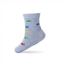 Носки демисезонные средние для мальчика, Лапки, V&T (размер 10-12)