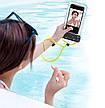 "Чехол-сумка водонепроницаемая для телефона Baseus Let's go 7.2"" Серый/ Желтый (ACFSD-DGY), фото 3"