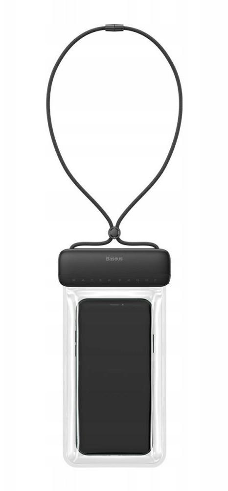 """Чехол-сумка водонепроницаемая для телефона Baseus Let's go 7.2"""" Серый/ Черный (ACFSD-DG1)"""