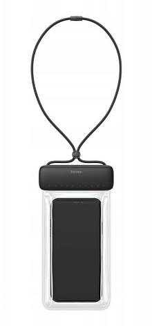 """Чехол-сумка водонепроницаемая для телефона Baseus Let's go 7.2"""" Серый/ Черный (ACFSD-DG1), фото 2"""