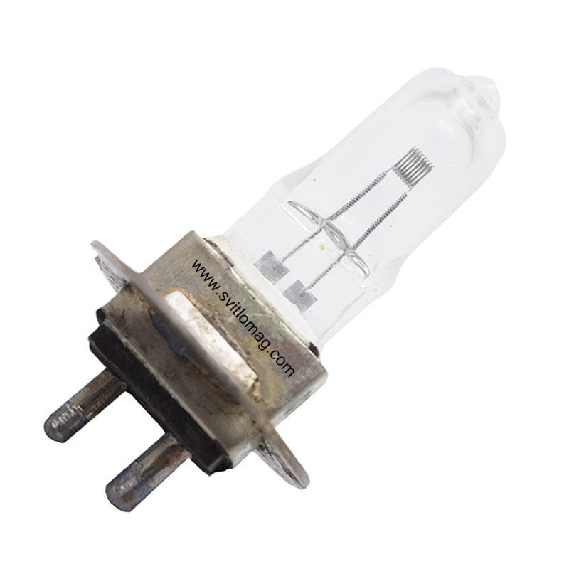 Лампа кварцевая галогенная малогабаритная КГМн 12-50 ЛИСМА PG22-6.35