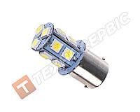 Лампа 18LED 12V цоколь BA15s лампа габаритных огней,габаритов, стопов