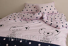 Детский полуторный комплект постельного белья с компаньоном S420