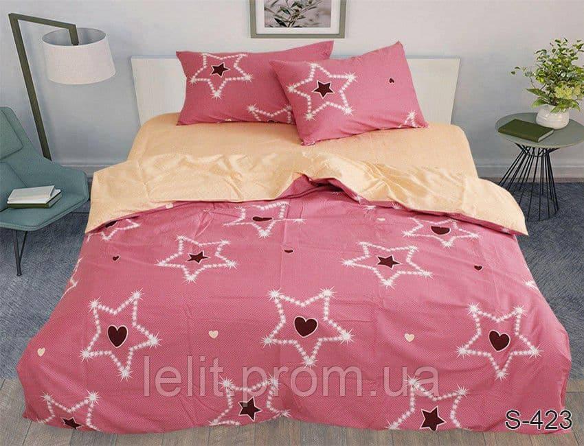 Полуторный комплект постельного белья с компаньоном S423