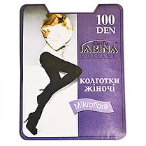 Колготки Lady Sabina 100 den microfibra Tabaco р.3 (LS100MF) | 5 шт., фото 2