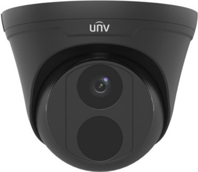 IP-відеокамера купольна Uniview IPC3614LR3-PF28-D (black)
