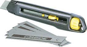 Ніж Stanley Iterlock, з 18-мм лезами, L=165 мм, 6227103