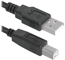 Кабель Defender (83763)USB04-06 USB2.0 AM-BM, 1.8 м, пакет