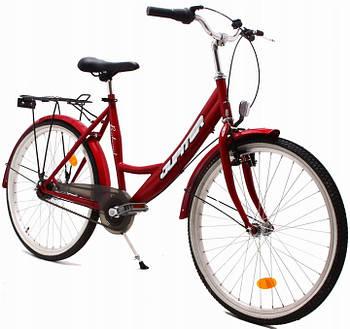 Міський велосипед OLPRAN JUPITER 24 red 140-160 смNexus 7 Польща