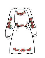 Заготовка бисерная для детского платья