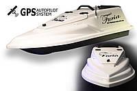 GPS (8+1) Прикормочний кораблик Фурія Шторм Біла, фото 1