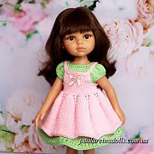 Сукня з фартухом для ляльок Паола Рейну