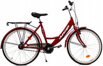Міський велосипед OLPRAN JUPITER 24 red 130-160 см Польща