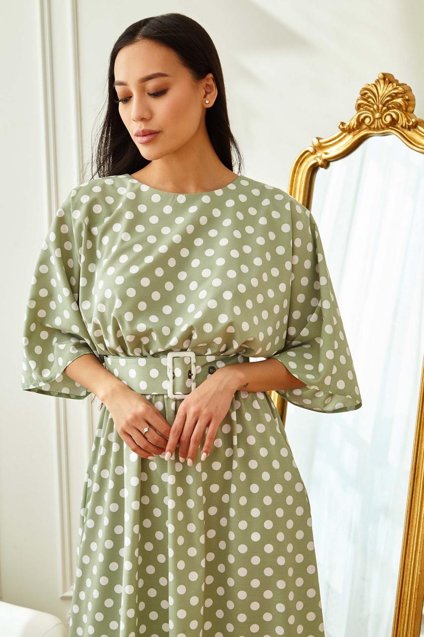 Сукня жіноча, колір: оливка, розмір: S, XL, M, L