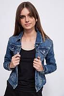 Джинсовая куртка жен. 123R17209 цвет Синий