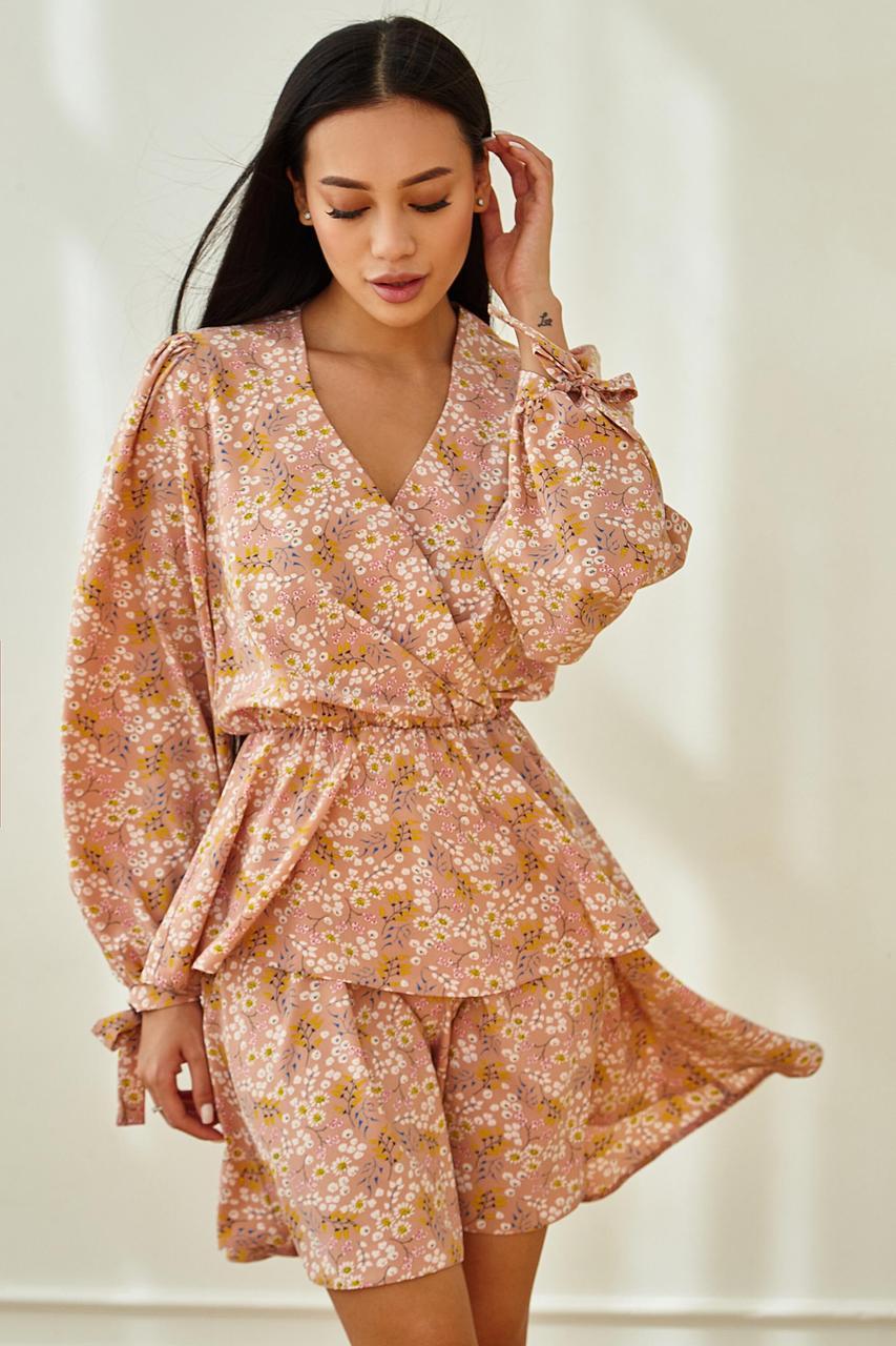 Сукня жіноча, колір: бежевий, розмір: XL, M, L, S