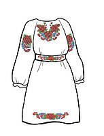 Заготовка для детского платья под вышивку бисером или нитками