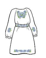 Заготовка под вышивку платья
