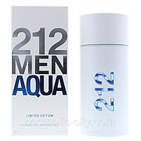 Carolina Herrera 212 Men Aqua Туалетная вода 100 ml Духи Каролина Херера Эрера 212 Мен Аква Мужской 100 мл