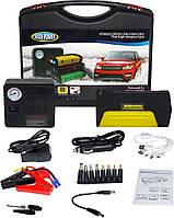 Пусковий - зарядний пристрій (ПЗУ) Jumpstarter TM15 (50800 маг) з ліхтариком + компресор (14090), фото 1