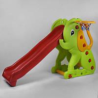Горка детская Pilsan Elephant Slide 06-160