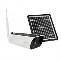 Камера видеонаблюдения с солнечной панелью UKC (7585)