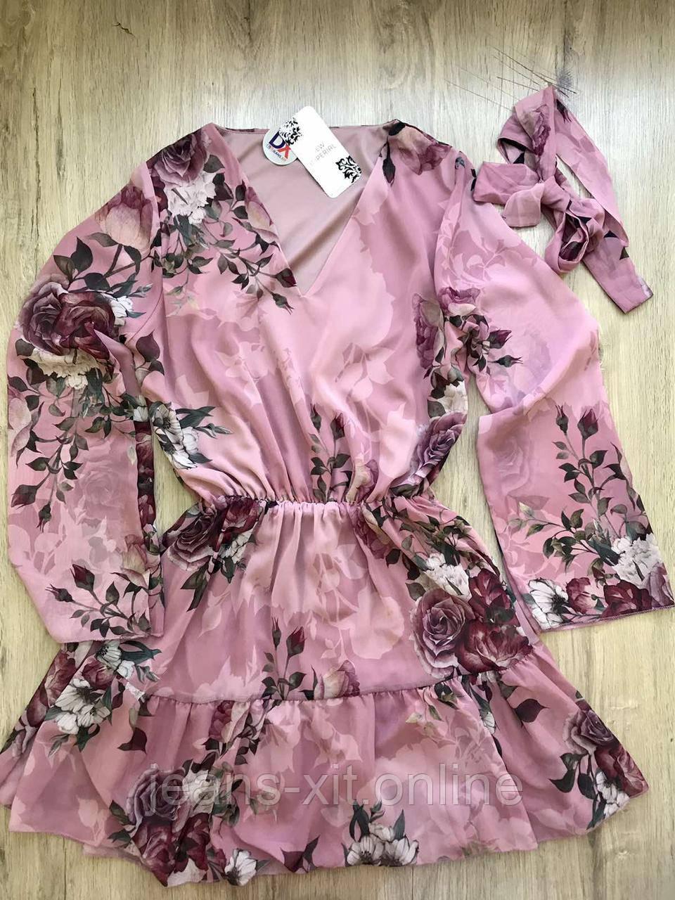 Платье женское 36(р) пудровое 17-21 New Imperial Турция Весна-D