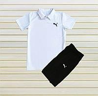 Летние комплекты шорты и футболка Puma Пума. Puma шорты и футболка Polo Поло. Футболка и шорты