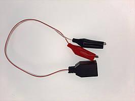 Переходник USB мама - зажимы крокодилы для USB тестера