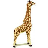 Мягкая игрушка Melissa&Doug Огромный плюшевый жираф, 1,40 м (MD2106)
